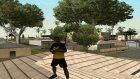 Футболка NAVI для GTA San Andreas вид сбоку
