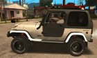 Jeep Wrangler Трофи 1986 for GTA San Andreas left view