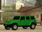 Jeep Wrangler Unlimited Rubicon 2013 для GTA San Andreas вид сзади слева