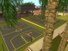 Обновлённая баскетбольная площадка for GTA San Andreas left view