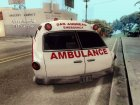 Old Ambulance for GTA San Andreas rear-left view