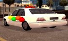 Mercedes-Benz W140 for GTA San Andreas rear-left view