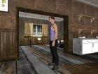 Skin HD GTA V Online парень с белыми глазами для GTA San Andreas вид изнутри