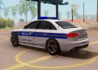 Audi S4 - Croatian Police Car для GTA San Andreas вид сверху