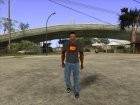 CJ в футболке (K DST) for GTA San Andreas left view