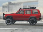 Jeep Cherokee 1998 Off Road 4x4 для GTA San Andreas вид изнутри
