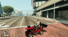 Lawn Mower-Super Sport for GTA 5 inside view