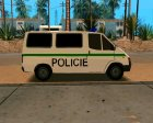 Ford Transit Police for GTA San Andreas rear-left view