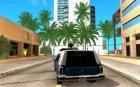 Пожарный Romero для GTA San Andreas вид сзади слева