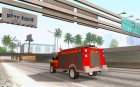 Ford F-350 Swedish Fire Truck для GTA San Andreas вид сзади слева