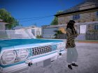 Camo Shirt Girl для GTA San Andreas