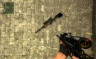 BlackFire Awp with red dot! for Counter-Strike Source top view