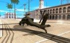 "AH-64""Апач"" для GTA San Andreas вид слева"