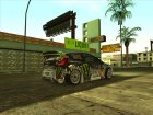 DIRT 2 HD cars pack для GTA San Andreas