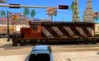 CN SD40 ZEBRA STRIPES для GTA San Andreas вид слева