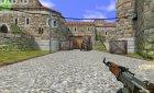 AK 47 DESERT CAMO для Counter-Strike 1.6 вид сзади слева