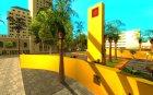 Новый центральный парк Лос Сантоса для GTA San Andreas вид слева