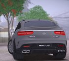 Mercedes-Benz GLE 63 AMG Coupe for GTA San Andreas inside view