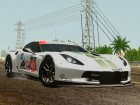 Chevrolet Corvette C7R GTE 2014 (Paintjobs Part 2) for GTA San Andreas back view