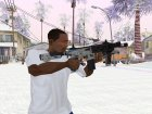 Новый MP5 для GTA San Andreas вид слева