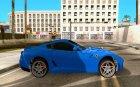 Ferrari 599 GTB Fiorano (чёрный салон) для GTA San Andreas вид изнутри