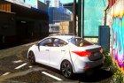 2016 Hyundai Elantra GLS 1.0 для GTA 5 вид сверху