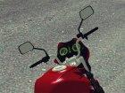 Honda Titan 150 Mix для GTA San Andreas вид изнутри