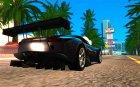Lexus LFA для GTA San Andreas вид сверху