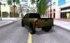 Chevrolet Silverado 2500HD 2013 for GTA San Andreas rear-left view