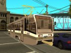 Трамвайный вагон типа 71-619 КТ (КТМ-19) для GTA San Andreas вид слева