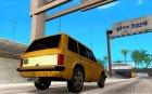 Хантли под такси для GTA San Andreas вид сверху