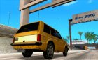 Хантли под такси for GTA San Andreas top view