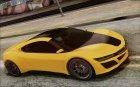 GTA V Dinka Jester for GTA 4 top view