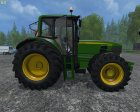 John Deere 6630 Weight FL для Farming Simulator 2015 вид сверху