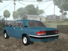 ГАЗ 3110 Волга Сток for GTA San Andreas back view
