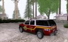 Chevrolet Suburban SFFD for GTA San Andreas left view