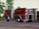 Seagrave Marauder I SACFD Engine 49 for GTA San Andreas rear-left view