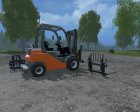 Toyota Forklift for Farming Simulator 2015 inside view