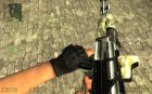 Darkness Device Sand Camo AK-47 for Counter-Strike Source rear-left view