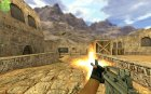 Black Solid M4A1 для Counter-Strike 1.6 вид слева