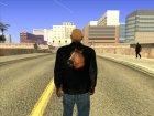 Куртка Лошадиная Башка для GTA San Andreas вид сзади слева
