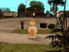 Sandy from Spongebob для GTA San Andreas вид сверху