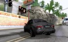 Sedan from Modern Warfare 3 для GTA San Andreas вид сзади слева