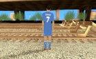 Криштиану Роналду v2 для GTA San Andreas вид сзади слева