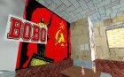 Русский бар в Гантоне в стиле СССР для GTA San Andreas вид сзади слева