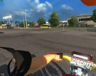 Yamaha Motorcycle for Euro Truck Simulator 2 back view