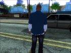 Франклин из GTA V for GTA San Andreas inside view