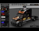 Freightliner Coronado for Euro Truck Simulator 2 back view