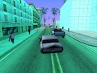 Реакция на гудок для GTA San Andreas вид слева