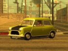 Mini Cooper 1300 Mr Bean for GTA San Andreas rear-left view